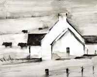 English Farmhouse I Fine Art Print