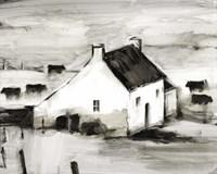 English Farmhouse II Framed Print