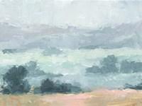 Pastel Valley I Framed Print