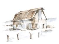 Roadside Barn I Framed Print