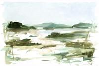 Marsh Sketch II Framed Print