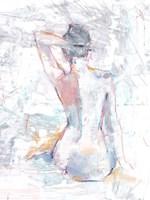 Pastel Study I Framed Print
