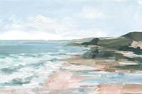 Coral Sand Beaches I Framed Print