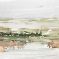 Turquoise & Clay III Framed Print