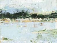 Treelined Waterfront I Framed Print