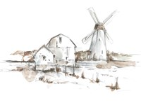 Old Mill Farm I Framed Print