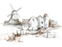 Old Mill Farm II Framed Print