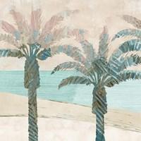 Retro Palms I Fine Art Print