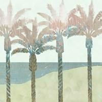 Retro Palms II Fine Art Print