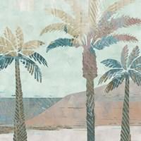 Retro Palms III Fine Art Print