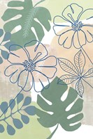Tropical Flower Power I Fine Art Print