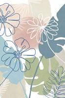 Tropical Flower Power III Framed Print
