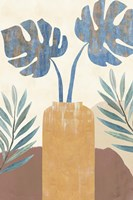Indigo Yellow Still Life II Fine Art Print