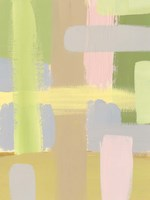 Subdued Blocks IV Framed Print