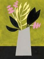 Mod Bouquet II Framed Print