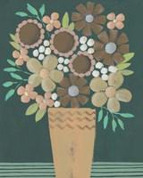 Flower Garden Bouquet I Framed Print