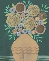 Flower Garden Bouquet II Framed Print