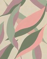 Elongated Leaves II Framed Print