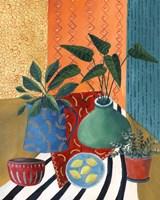 Colorful Tablescape II Fine Art Print