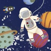 Future Space Explorer II Framed Print