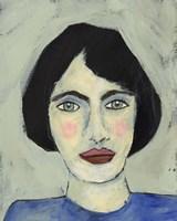 Green Eyed Girl I Framed Print