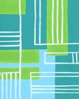 On the Line V Framed Print