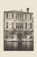 Vintage Views of Venice I Framed Print