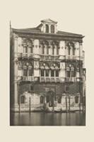 Vintage Views of Venice II Framed Print