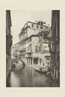Vintage Views of Venice VI Framed Print