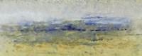 Open Terrain II Framed Print