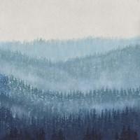 Smoky Ridge I Framed Print