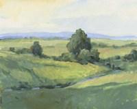 Rolling Green Hills I Framed Print