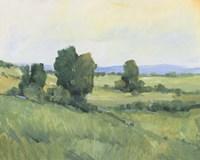 Rolling Green Hills II Framed Print