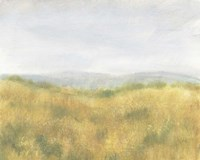 Wheat Fields I Framed Print