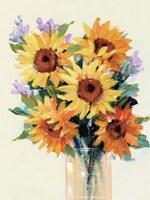 Fresh Cut Flowers II Framed Print