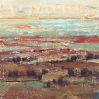 Divided Landscape II Framed Print