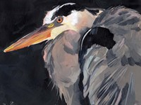 Great Heron II Framed Print