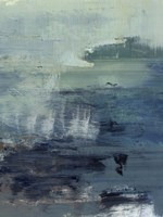 Morning Lake Mist II Framed Print