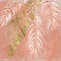 Golden Palms I Framed Print