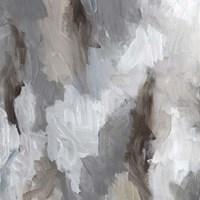 Cloudy Shapes II Framed Print