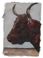 Cattle View I Framed Print