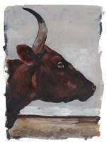 Cattle View II Framed Print