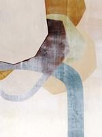 Desert Rockfall I Framed Print
