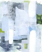 Oceanic Shimmer I Framed Print