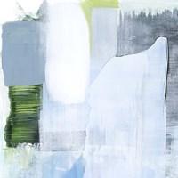 Oceanic Shimmer III Framed Print