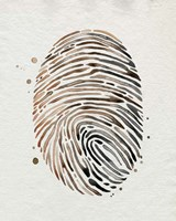 Finger Print I Framed Print