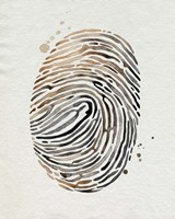 Finger Print II Fine Art Print