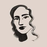 Mona II Framed Print