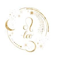 Gilded Astrology V Fine Art Print