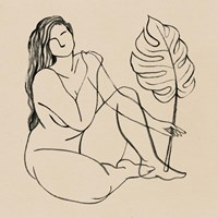 Femme Figure III Framed Print